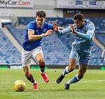 25.07.2020 Rangers v Coventry City: Ianis Hagi and Jordon Thompson