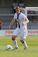 Connor Dymond of Crystal Palace during the Friendly match between Barnet and Crystal Palace at The Hive, London, England on 11 July 2015. Photo by David Horn.
