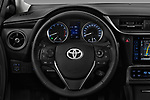 Car pictures of steering wheel view of a 2017 Toyota Corolla Lounge 4 Door Sedan Steering Wheel