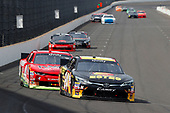 NASCAR XFINITY Series<br /> Lilly Diabetes 250<br /> Indianapolis Motor Speedway, Indianapolis, IN USA<br /> Saturday 22 July 2017<br /> Jeb Burton, Estes Express Lines Toyota Camry and Ross Chastain, Illiana Watermelon Association Chevrolet Camaro<br /> World Copyright: Russell LaBounty<br /> LAT Images