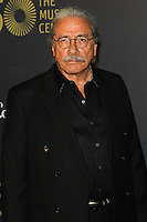 LOS ANGELES, CA, USA - DECEMBER 06: Edward James Olmos arrives at The Music Center's 50th Anniversary Spectacular held at The Music Center - Dorothy Chandler Pavilion on December 6, 2014 in Los Angeles, California, United States. (Photo by Celebrity Monitor)