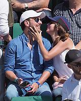 Christophe Michalak, Delphine McCarty<br /> day 12<br /> Roland Garros 2017