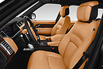 Front seat view of a 2018 Land Rover Range Rover Autobiography Select Doors Door SUV front seat car photos