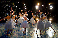 Photography of the North Carolina Dance Theatre production of the Nutcracker at Belk Theater.