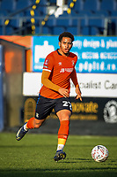 9th January 2021; Kenilworth Road, Luton, Bedfordshire, England; English FA Cup Football, Luton Town versus Reading; Sam Nombe of Luton Town.