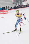 HOLMENKOLLEN, OSLO, NORWAY - March 16: Maxime Laheurte of France (FRA) during the cross country 15 km (2 x 7.5 km) competition at the FIS Nordic Combined World Cup on March 16, 2013 in Oslo, Norway. (Photo by Dirk Markgraf)