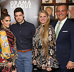 Shoshana Bean, Jeremy Jordan, Bonnie Comley and Stan Ponte attends the 2019 Drama League Nominees Announcement at Sardi's on April 17, 2019 in New York City.