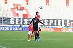 Kastenhofer (HFC) gegen Redondo (FCK) beim Spiel in der 3. Liga, Hallescher FC - 1. FC Kaiserslautern.<br /> <br /> Foto © PIX-Sportfotos *** Foto ist honorarpflichtig! *** Auf Anfrage in hoeherer Qualitaet/Aufloesung. Belegexemplar erbeten. Veroeffentlichung ausschliesslich fuer journalistisch-publizistische Zwecke. For editorial use only. DFL regulations prohibit any use of photographs as image sequences and/or quasi-video.