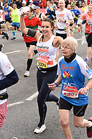 Charlie Webster<br /> at the start of the London Marathon 2019, Greenwich, London<br /> <br /> ©Ash Knotek  D3496  28/04/2019