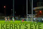 Gavin White (Captain), Dr. Crokes /scores a goal during the Kerry County Senior Football Championship Semi-Final match between Mid Kerry and Dr Crokes at Austin Stack Park in Tralee, Kerry.