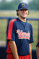 Cedar Rapids Kernels pitcher Ty Kelley #11 during practice before a game against the Quad Cities River Bandits at Modern Woodmen Park on June 30, 2012 in Davenport, Illinois.  Quad Cities defeated Davenport 8-7.  (Mike Janes/Four Seam Images)