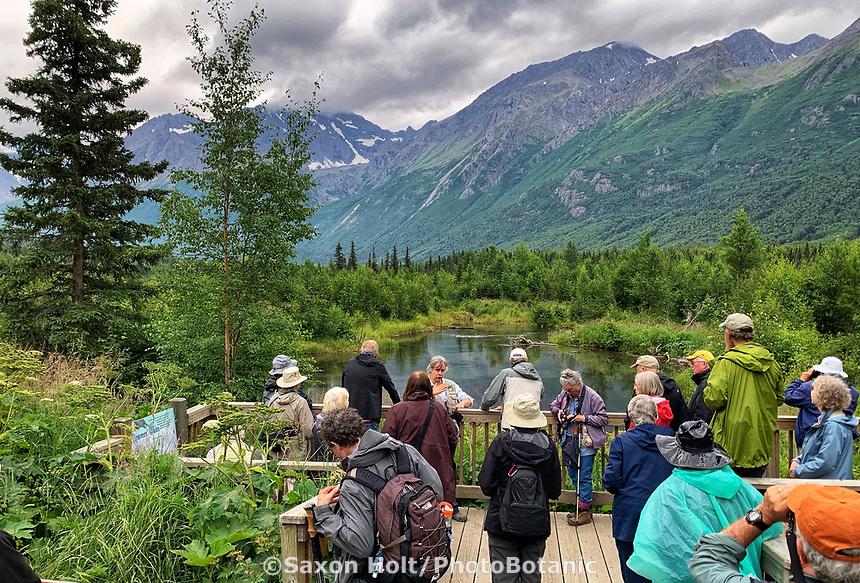 Eagle River Preserve, Pacific Horticulture tour of Alaska