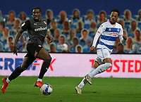 Chris Willock of Queens Park Rangers crosses the ball during Queens Park Rangers vs Rotherham United, Sky Bet EFL Championship Football at The Kiyan Prince Foundation Stadium on 24th November 2020