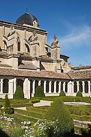 Europe/France/Aquitaine/47/Lot-et-Garonne/Marmande: Église Notre-Dame de Marmande : Le Cloître