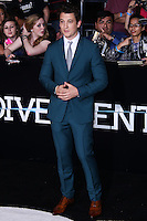 """WESTWOOD, LOS ANGELES, CA, USA - MARCH 18: Miles Teller at the World Premiere Of Summit Entertainment's """"Divergent"""" held at the Regency Bruin Theatre on March 18, 2014 in Westwood, Los Angeles, California, United States. (Photo by David Acosta/Celebrity Monitor)"""