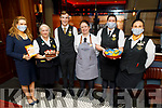 The staff of the Ballygarry House Hotel supporting the Coffee Morning for Palliative Care on Thursday L to r: Shauna O'Donoghue, Nuala O'Sullivan, Mark Reidy, Doreen Burke, Liz Carey and Eileen O'Regan.
