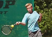 Netherlands, Dordrecht, August 03, 2015, Tennis,  National Junior Championships, NJK, TV Dash 35, Bastijn Groenendaal<br /> Photo: Tennisimages/Henk Koster