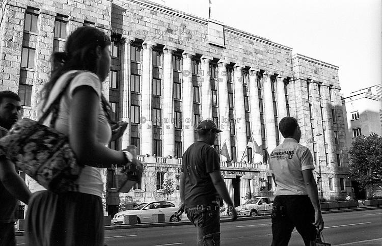 Belgrado, centro città. Il palazzo sede delle poste --- Belgrade, downtown. Main Post Office building