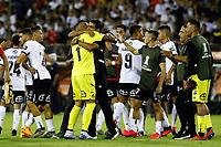 11th March 2020; Estadio Monumental David Arellano; Santiago, Chile; Copa Libertadores, Colo Colo versus Athletico Paranaense; Players of Colo-Colo celebrates a victory after the match