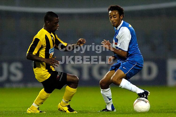 veendam - fc eindhoven jupiler league seizoen 2007-2008 07-09-2007  zimmerman met diaz