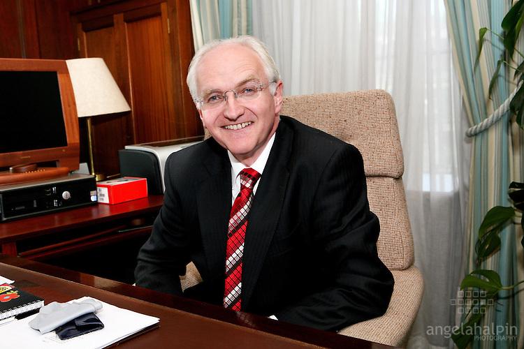 John Gormley, Environment Minister , Dublin Ireland.