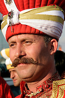 MEMBER OF THE OTTOMAN MILITARY BAND, ISTANBUL, TURKEY
