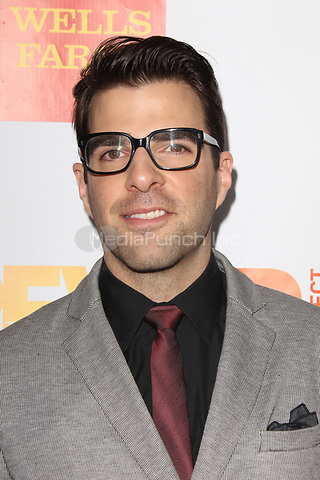 LOS ANGELES, CA - DECEMBER 02: Zachary Quinto at 'Trevor Live' honoring Katy Perry and Audi of America for The Trevor Project held at The Hollywood Palladium on December 2, 2012 in Los Angeles, California. Credit: mpi21/MediaPunch Inc.