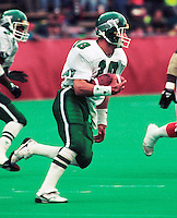 Jeff Fairholm Saskatchewan Roughriders 1991. Photo Scott Grant
