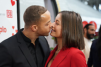 Jenny Lang und Andrej Mangold - Frankfurt 14.02.2020: Duplo Liebesreise zum Valentinstag nach Paris