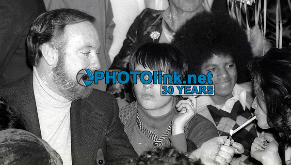 1978 FILE PHOTO<br /> New York City<br /> Jack Haley Jr. Liza Minelli Michael Jackson at Studio 54<br /> Photo by Adam Scull-PHOTOlink.net