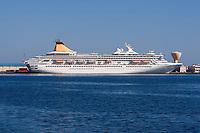 Tripoli, Libya - Cruise Ship Artemis in Harbor.