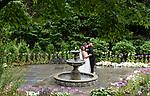 Pre-Wedding Bridal Portraits In The Garden<br /> Abigail Kirsch At Tappan Hill Mansion<br /> Hudson Weddings