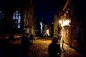Oxford University<br /> Oxford, United Kingdom<br /> November 29, 2018<br /> <br /> Merton street at night.