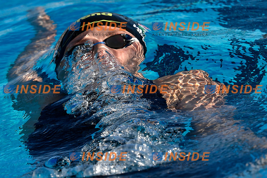 Katinka Hosszu of Hungary competes in the women 400m Individual Medley during the 58th Sette Colli Trophy International Swimming Championships at Foro Italico in Rome, June 26th, 2021. Katinka Hosszu placed first.