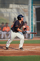 AZL Giants Black Jin-De Jhang (6) at bat during a rehab assignment in an Arizona League game against the AZL Giants Orange on July 19, 2019 at the Giants Baseball Complex in Scottsdale, Arizona. The AZL Giants Black defeated the AZL Giants Orange 8-5. (Zachary Lucy/Four Seam Images)