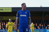 Mitchell Pinnock of AFC Wimbledon during AFC Wimbledon vs Fleetwood Town, Sky Bet EFL League 1 Football at the Cherry Red Records Stadium on 8th February 2020