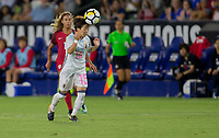 Carson, CA - Thursday August 03, 2017: Yuka Momiki during a 2017 Tournament of Nations match between the women's national teams of the United States (USA) and Japan (JAP) at StubHub Center.