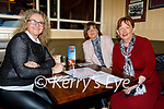 Shirley McEvoy, Mary Arnopp and Mary Fitzgerald enjoying the evening in the Mall Tavern on Friday.
