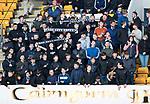 St Johnstone v Hearts…05.04.17     SPFL    McDiarmid Park<br />Saints fans<br />Picture by Graeme Hart.<br />Copyright Perthshire Picture Agency<br />Tel: 01738 623350  Mobile: 07990 594431
