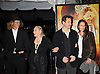 """Lauren Bacall and son Sam Robards and wife and grandson..posing for photographers at The New York Movie Premiere of """"Australia"""" on November 24, 2008 at The Ziegfeld Theatre. ....Robin Platzer, Twin Images....212-935-0770"""