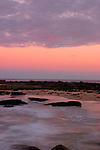 Soldiers Beach at sunset, NSW