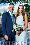 Claire Donoghue and Alan Fitzgerald who were married in Castlegrogery on Friday and had their wedding reception in Ballygarry House Hotel.
