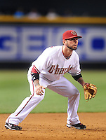 May 13, 2009; Phoenix, AZ, USA; Arizona Diamondbacks infielder Ryan Roberts against the Cincinnati Reds at Chase Field. Mandatory Credit: Mark J. Rebilas-