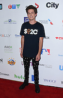 Charlie Puth @ the Stand Up To Cancer 2016 held @ the Walt Disney Concert Hall. September 9, 2016