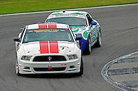 #7 Starworks Motorsport Mustang BOSS 302R of John Dalziel & Miguel Potolicchio (GS class)