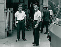 Fabrik in Schanghai, China 1980