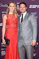 Helen Glover and Steve Backshall<br /> at the BT Sport Industry Awards 2017 at Battersea Evolution, London. <br /> <br /> <br /> ©Ash Knotek  D3259  27/04/2017
