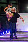 Cristina Medina and Fernado Romay during the fashion show By Nerea Garmendia of his 2nd Anniversay at COAM in Madrid. June 06. 2016. (ALTERPHOTOS/Borja B.Hojas)