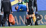 02.05.2021 Rangers v Celtic: Borna Barisic injured