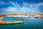 Croatia, Kvarner Gulf, Rab Island, Misnjak: landing stage of ferry Stinica - Misnjak | Kroatien, Kvarner Bucht, Insel Rab, Misnjak: Anlegestelle der Faehre Stinica - Misnjak